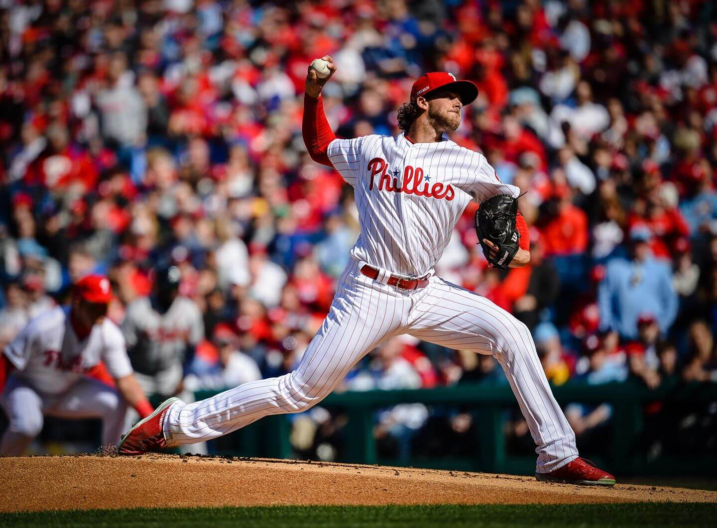 Aaron Nola of the Phillies