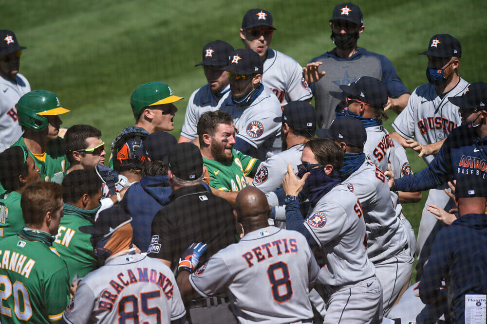 astros brawl suspensions likely