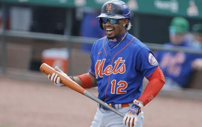 Francisco Lindor of the New York Mets