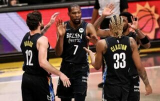 Kevin Durant and the Brooklyn Nets